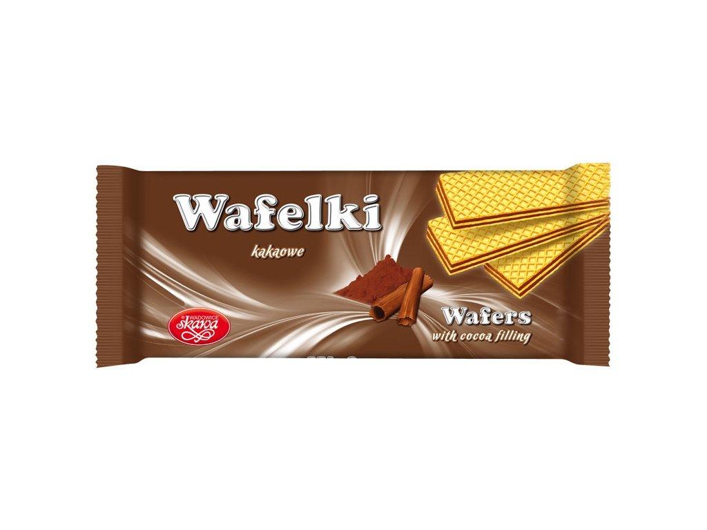 Wafelki 180 gramů Čokoládové