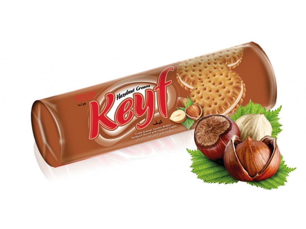 Keyf oříškové sušenky 140 gramů