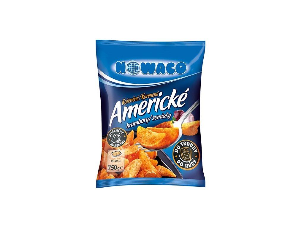 Americké brambory do trouby kořeněné Nowaco 750 g