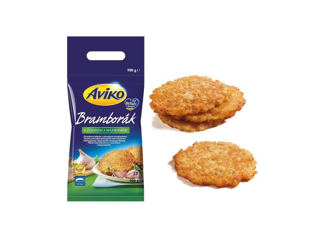 Aviko Pancake (bramborák český 50 g/kus bezlepkový) balení 900 g