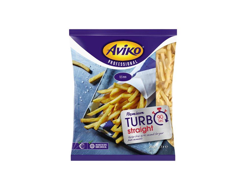 Aviko hranolky Turbo Plus 90s 2,5 kg