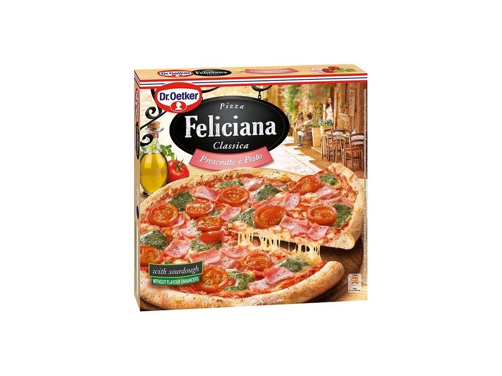 Pizza Feliciana Prosciutto e Pesto360 g