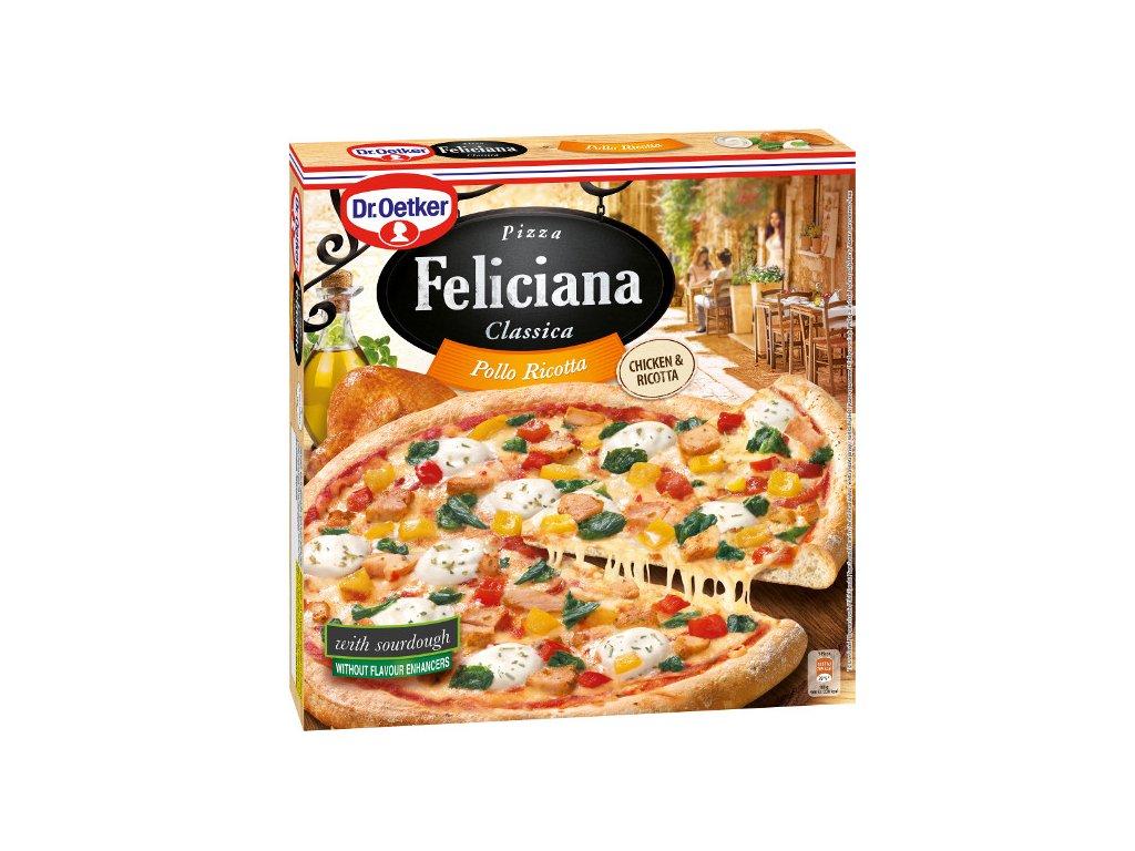 Pizza Feliciana Pollo Ricotta 335 g