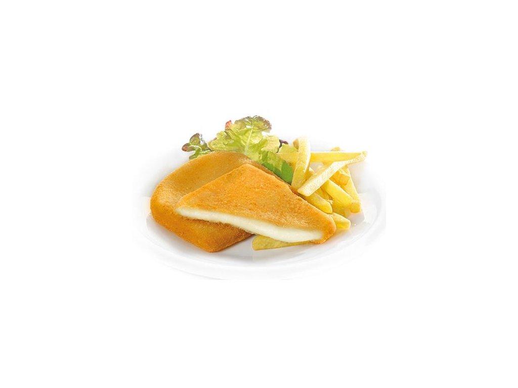 Obalovaný sýr 115 g předsmažený Nowaco –M– 1 kilogram.