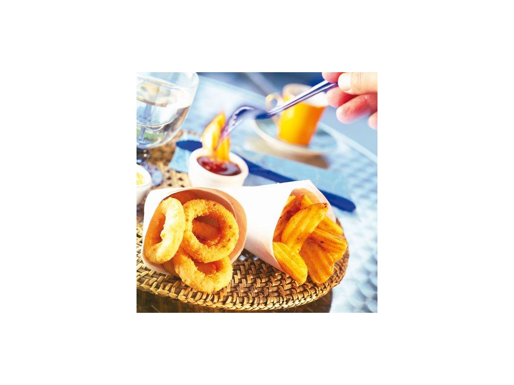 McCain Onion Rings (cibulové kroužky z drcené cibule) 1 kg