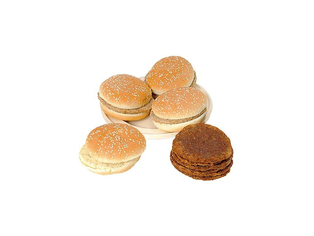Hamburger a bulky ø 10 cm – combi pack  24 ks