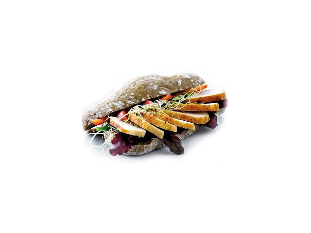 Kuřeci plátky vař/gril 6-8 mm balení 2,5 kg.Cena 200 Kč za kg.