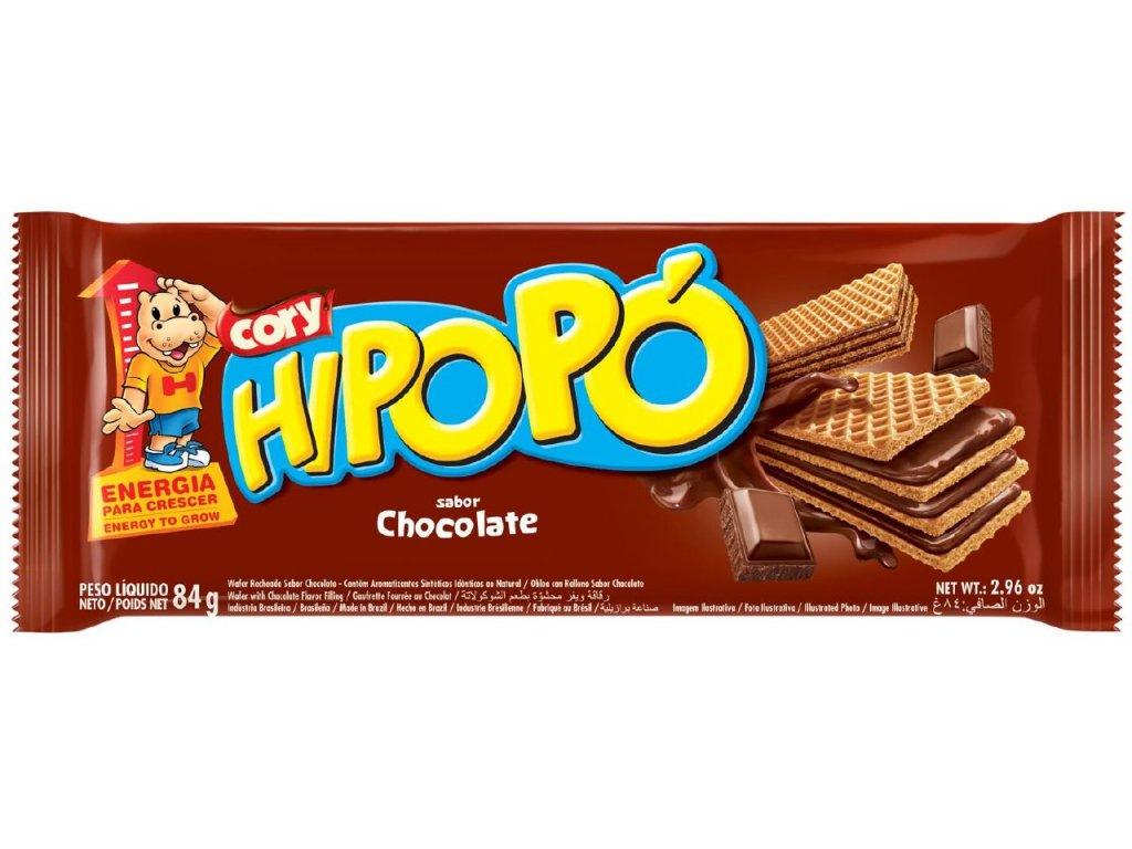 HIPOPO oplatka 84g čokoláda