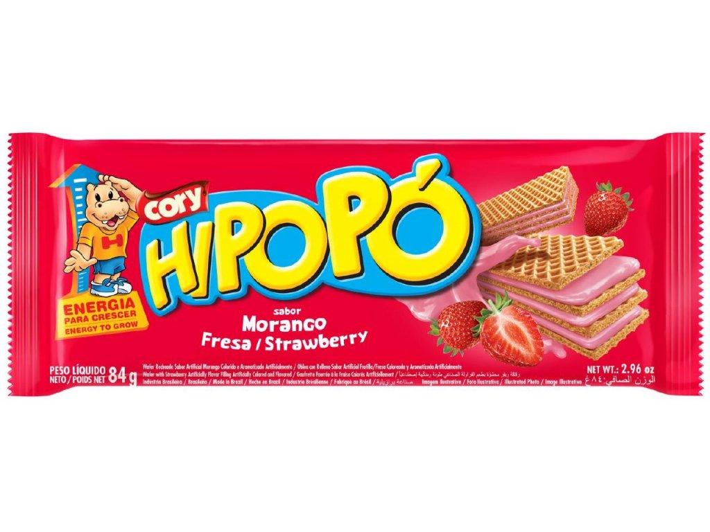 HIPOPO oplatka 84g jahoda