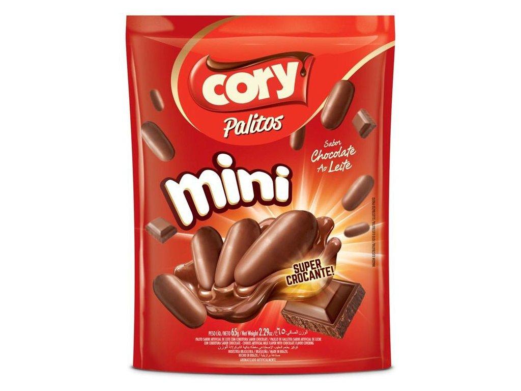 Palitos  Mini sušenky v čokoládě 65 g