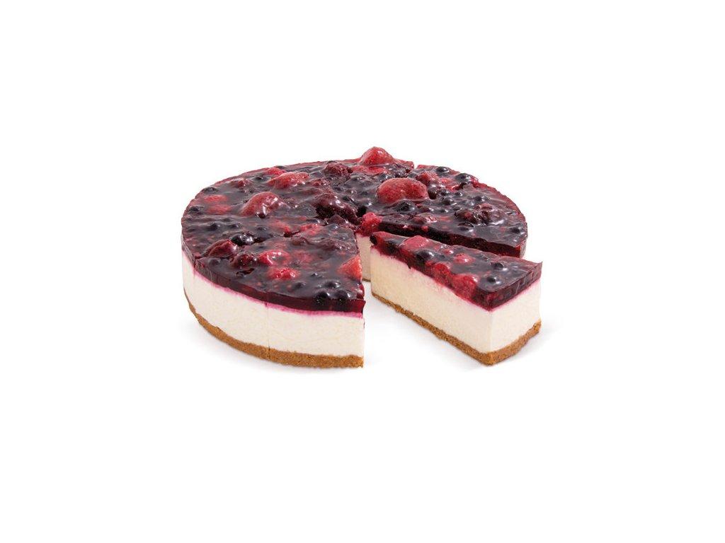 Tvarohový dort s lesním ovocem 1500 g