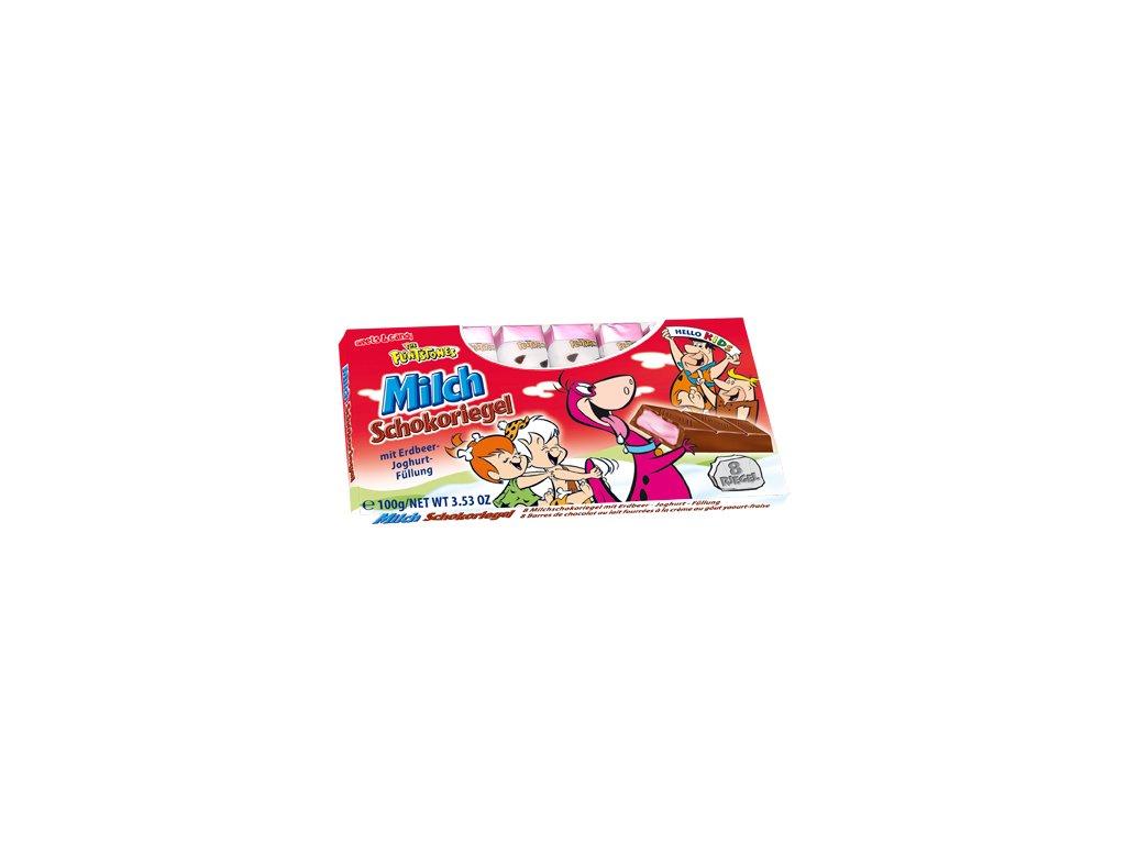 Dětská čokoláda - Jahoda 100g