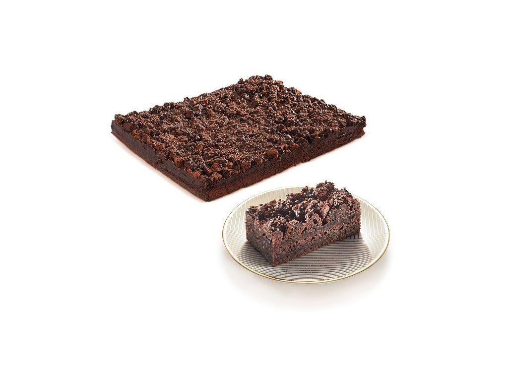 Brownie řezy s čokoládovými boby  2600 g