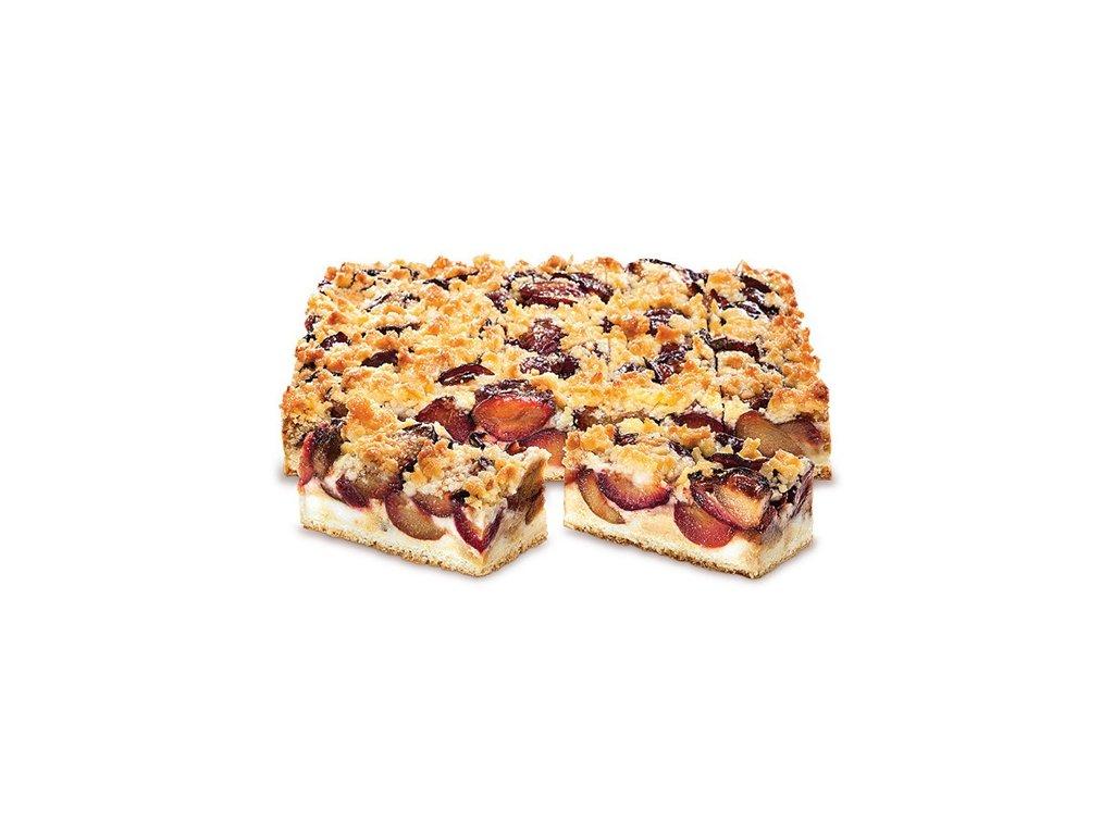 Švestkový koláč s drobenkou 2600 g