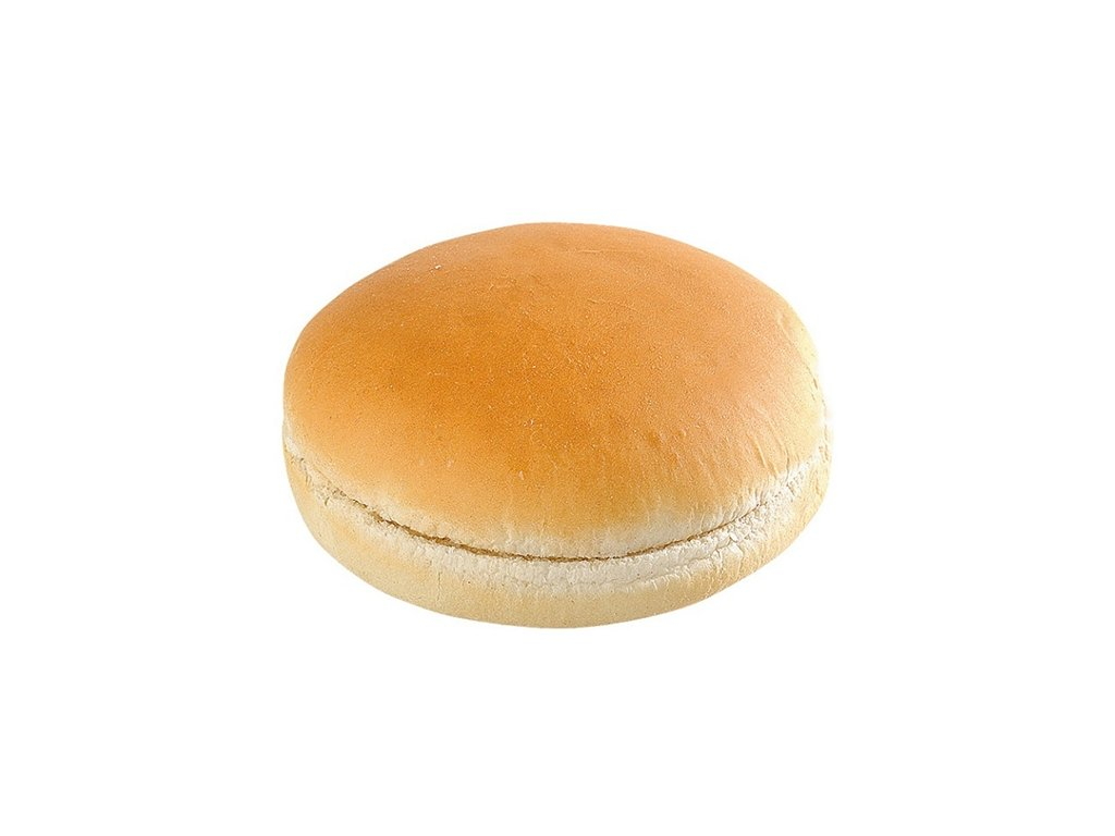 Bulka půlená natural maxi hamburger ø 12,5 cm 24 x 80 g