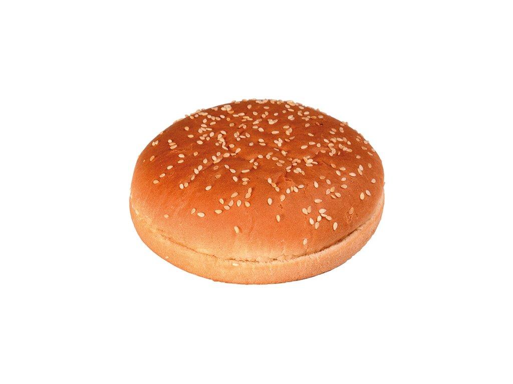 Bulka půlená sezam maxi hamburger ø 12,5 cm 24 x 80 g