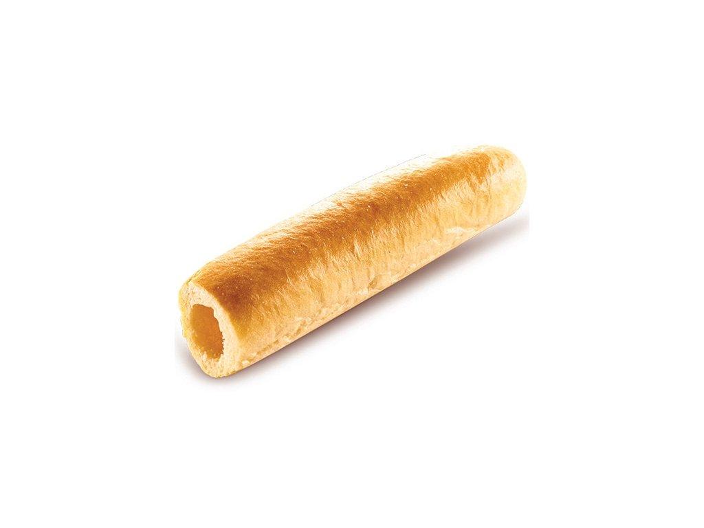 Francouzská Hot dog rolka dlabaná balení 40 x 60 g.Cena za kus 7 Kč