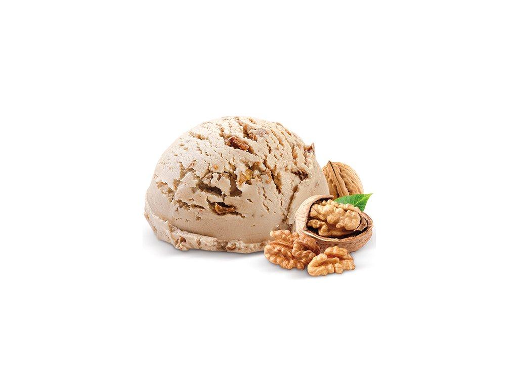 Vlašský ořech zmrzlina vana Prima 2 x 2,2 l celkem 4,4 litru.