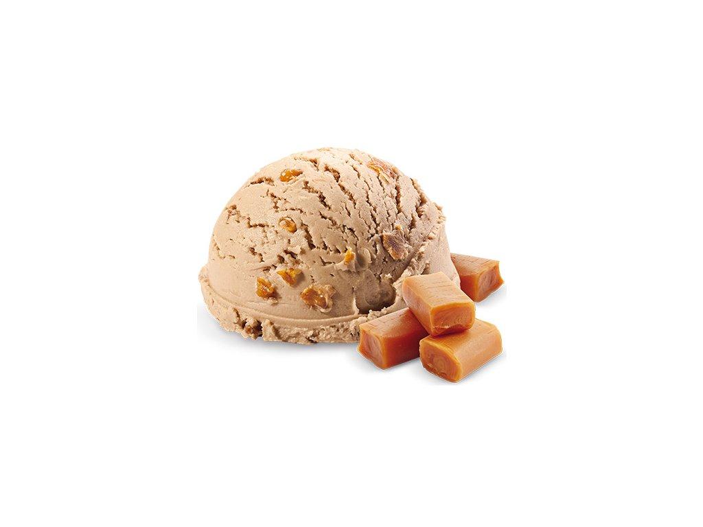 Karamel zmrzlina vana Prima 2 x 2,2 l celkem 4,4 litru.