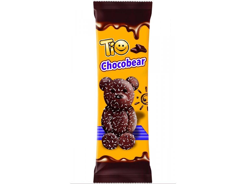 Tio ChocoBear 60 g tmavý