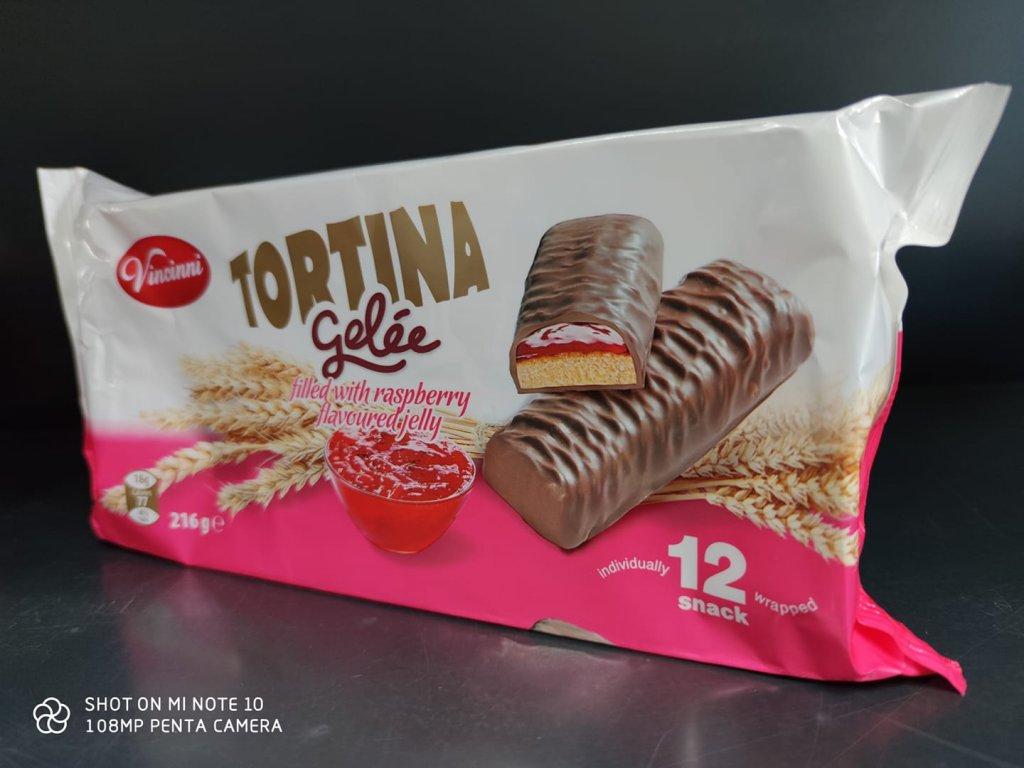 Tortina gelee - malina  216g