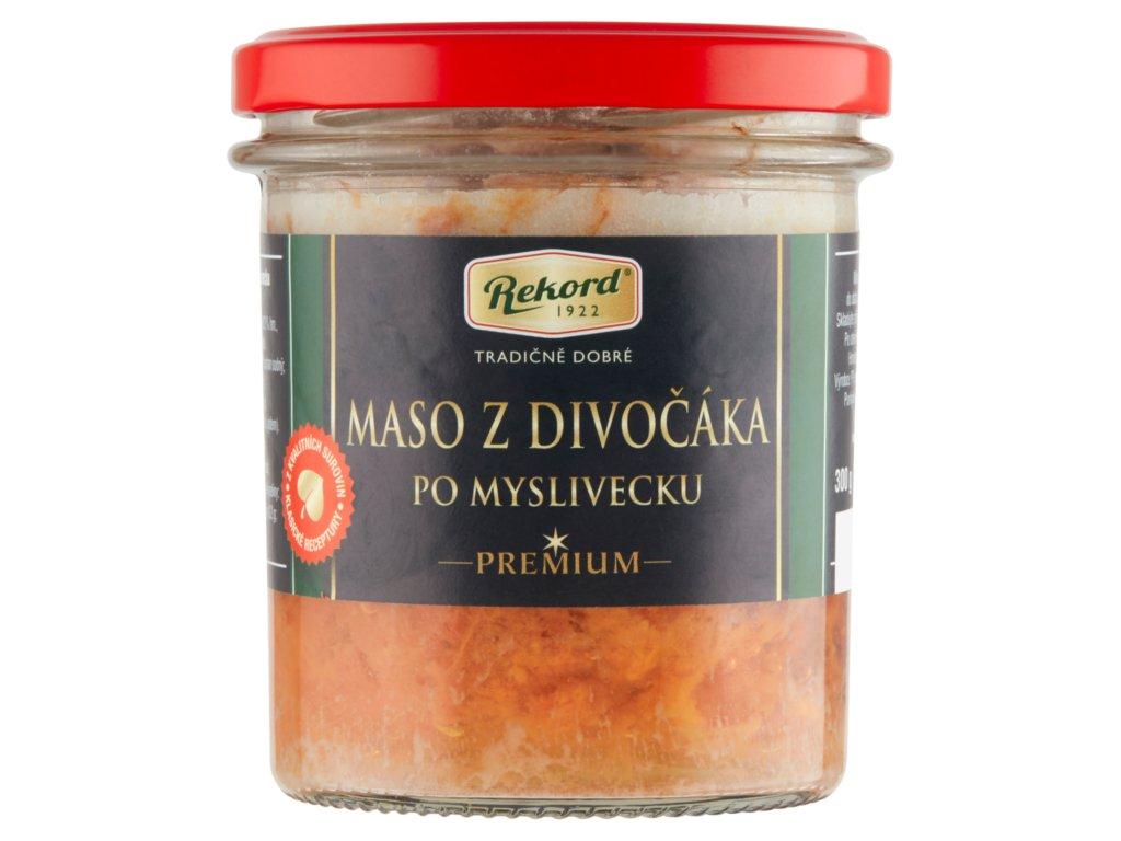 Maso z divočáka PREMIUM 300g
