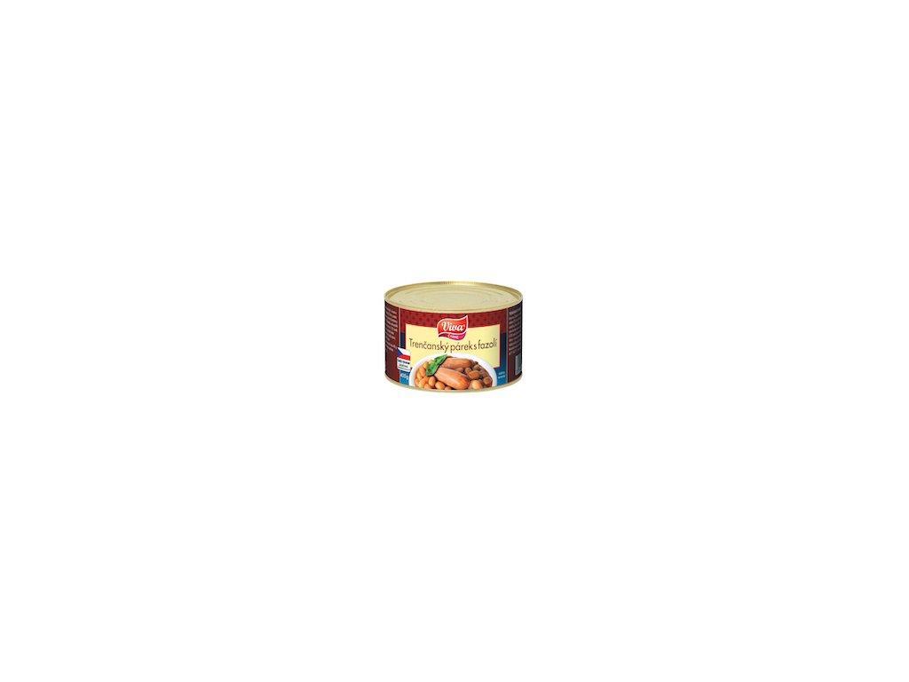 Trenčanský párek s fazolí 400g