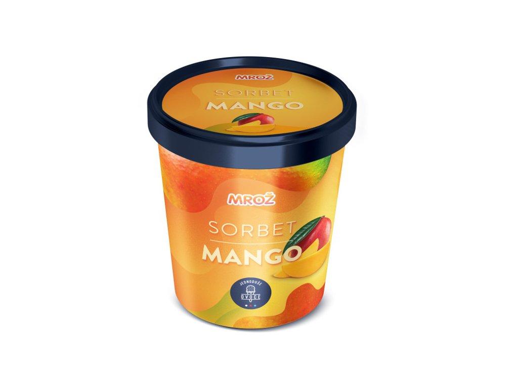 Mrož sorbet mango 460 ml
