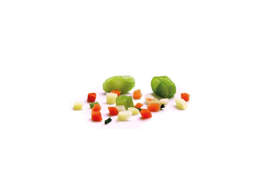 Jemná polévková kostka zeleninová směs Nowaco 2,5 kg