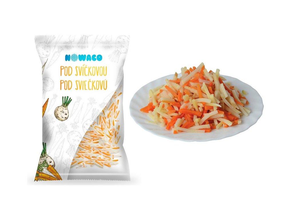 Zeleninová směs pod svíčkovou proužky Nowaco  2,5 kg