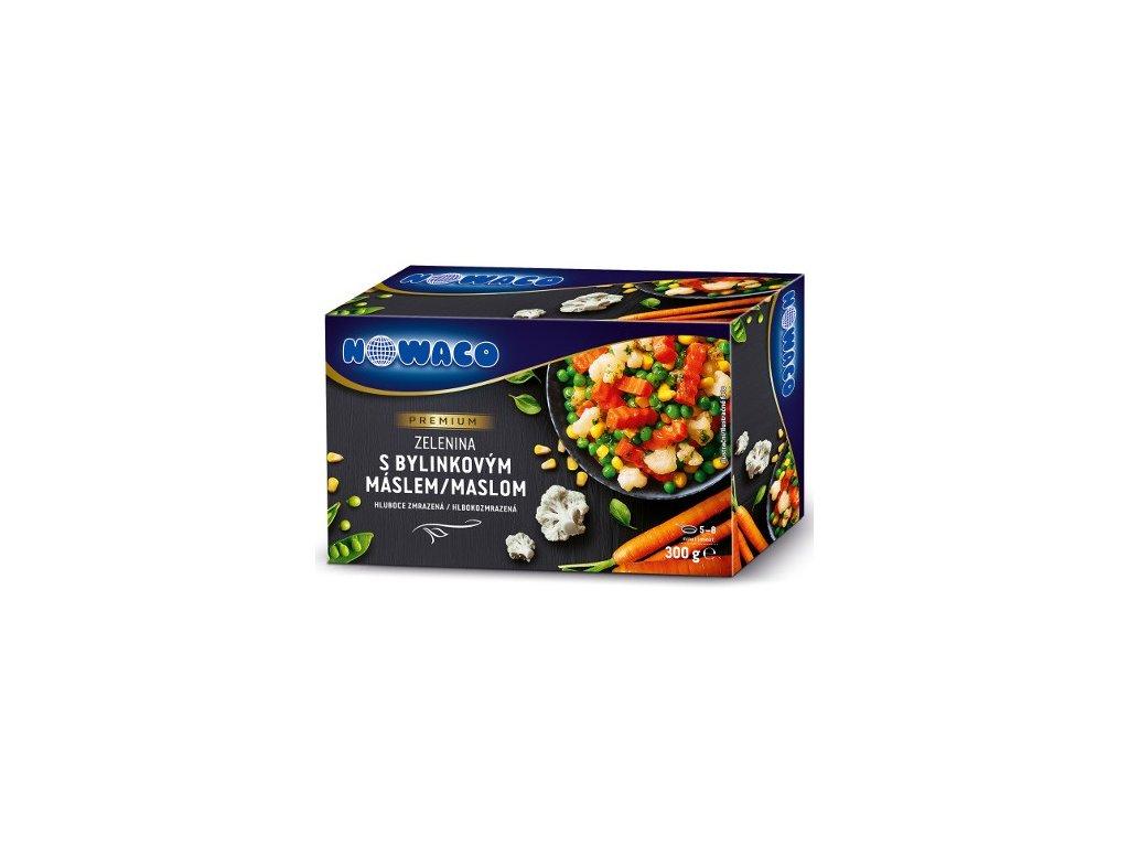 Zelenina s bylinkovým máslem Nowaco Premium  300 g