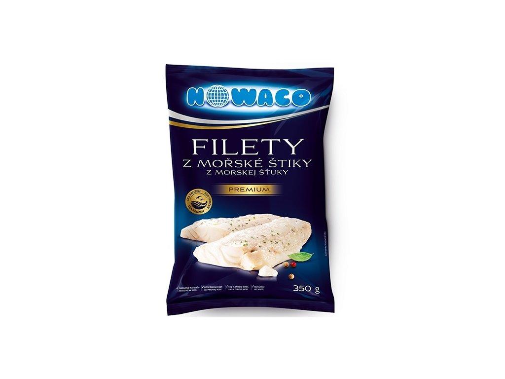 Filety z mořské štiky Nowaco Premium  350 g