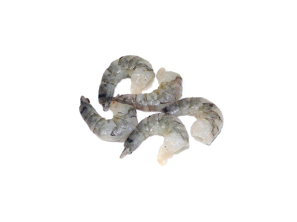 Krevety tygří ocasy vyloupané 26/30 ks/lb  800 g