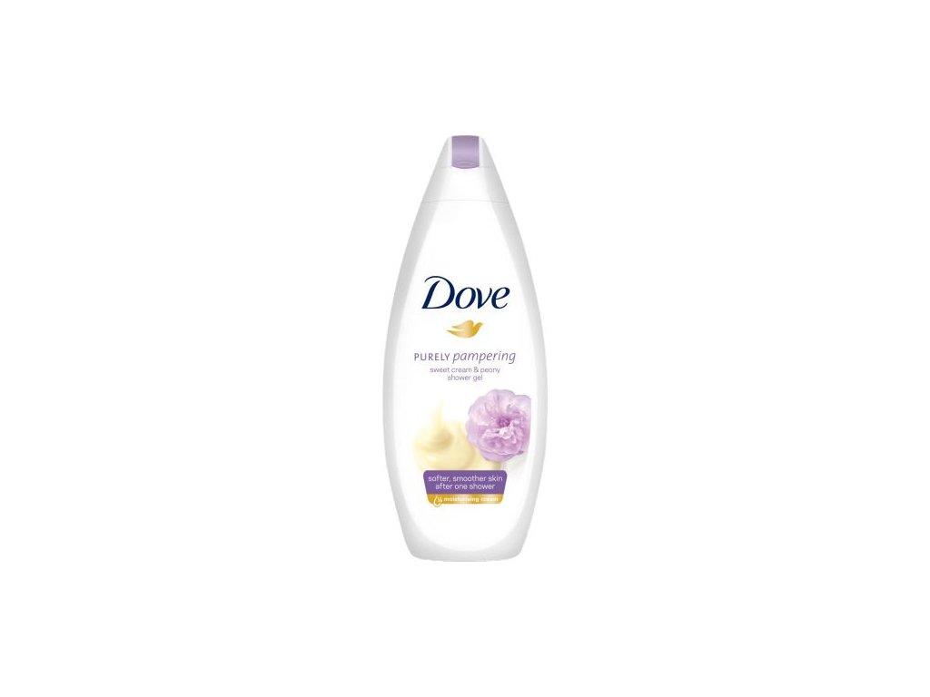 Dove sprchový gel pivoňka a smetana 250ml