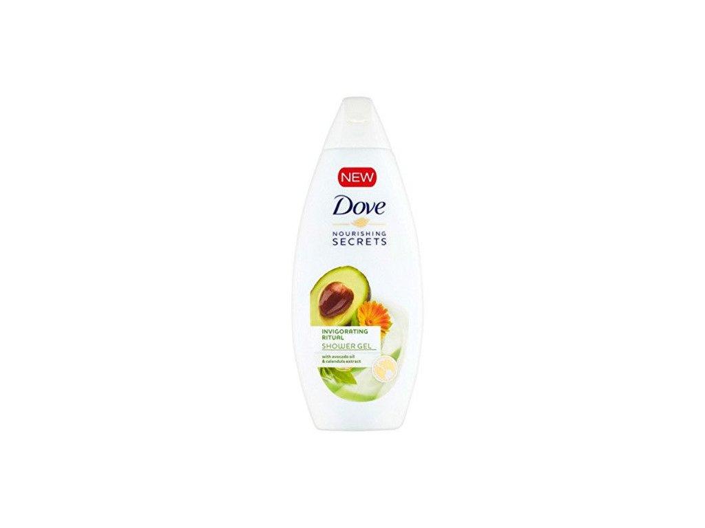Dove sprchový gel Povzbuzující Rituál Avokado 250ml