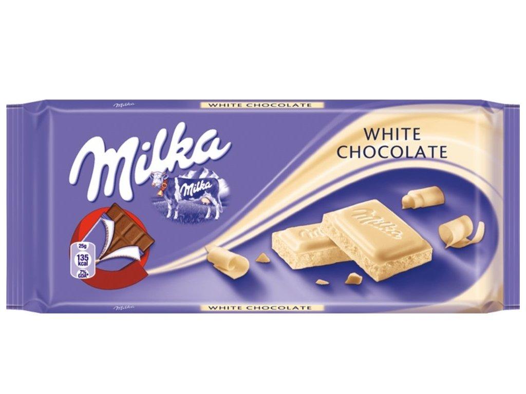 MILKA 100g White chocolate