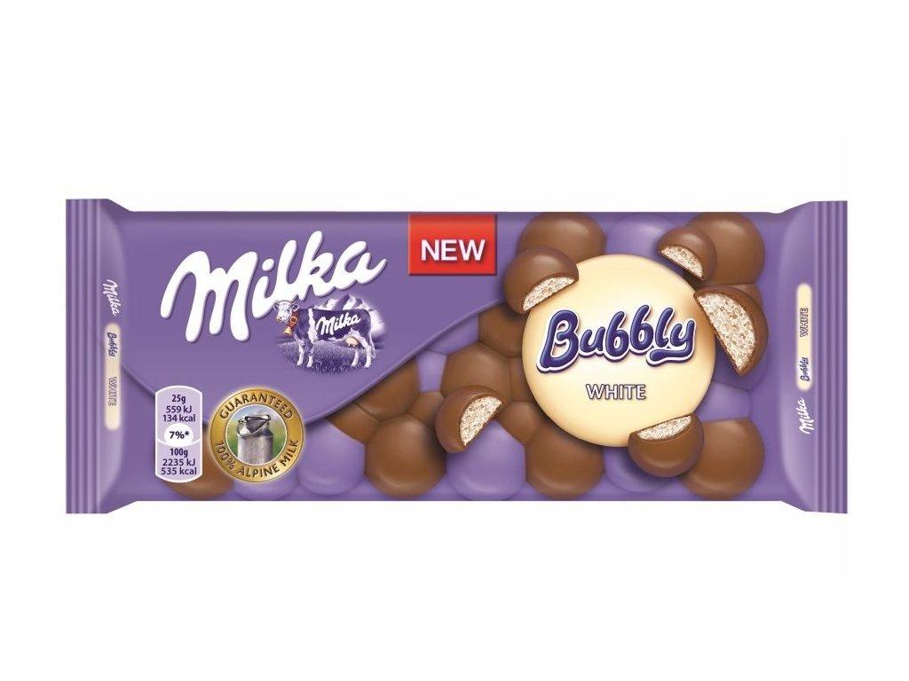 MILKA 95g Bubbly white