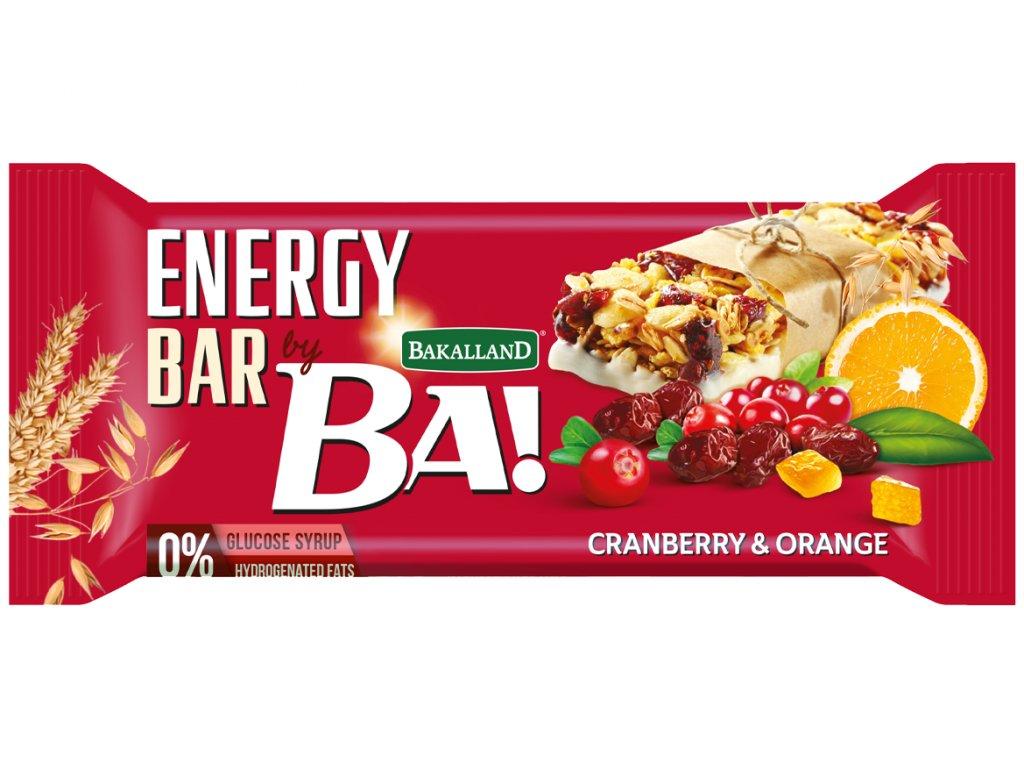 BA! Cranberry a Orange with Yoghurt glaze 40g