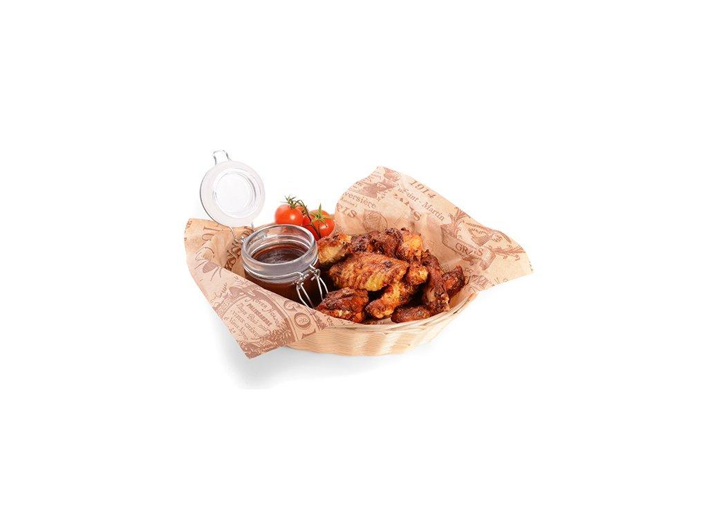 Kuřecí křídla sous-vide Banquet 1 – 1,2 kg  uvedená cena za kg.