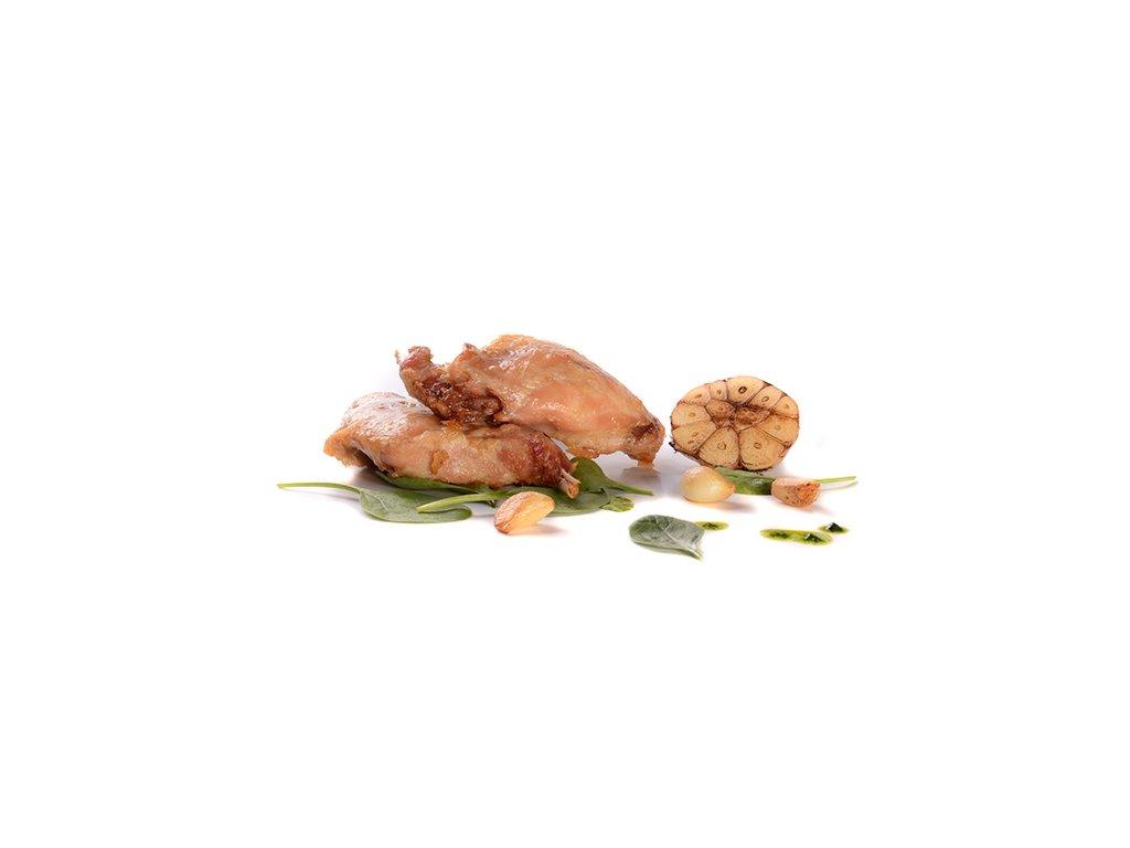 Králičí stehna 6 ks sous-vide Banquet 1,1 -1,5 kg cena za kilogram.