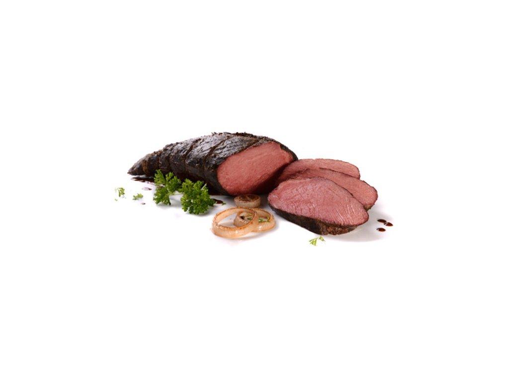 Hovězí kulatá plec sous-vide Banquet 1,6 – 2,8 kg cena za kilogram.