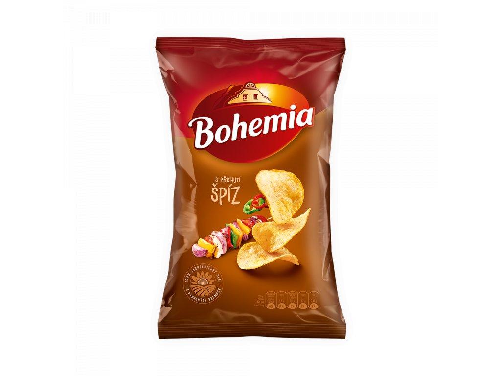 BOHEMIA Chips 70g Špíz