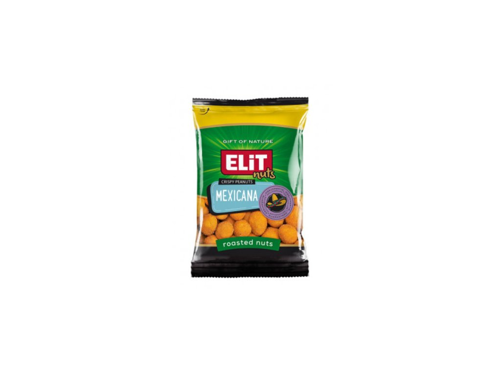 ELIT Arašídové Chipsy 70g Mexicana