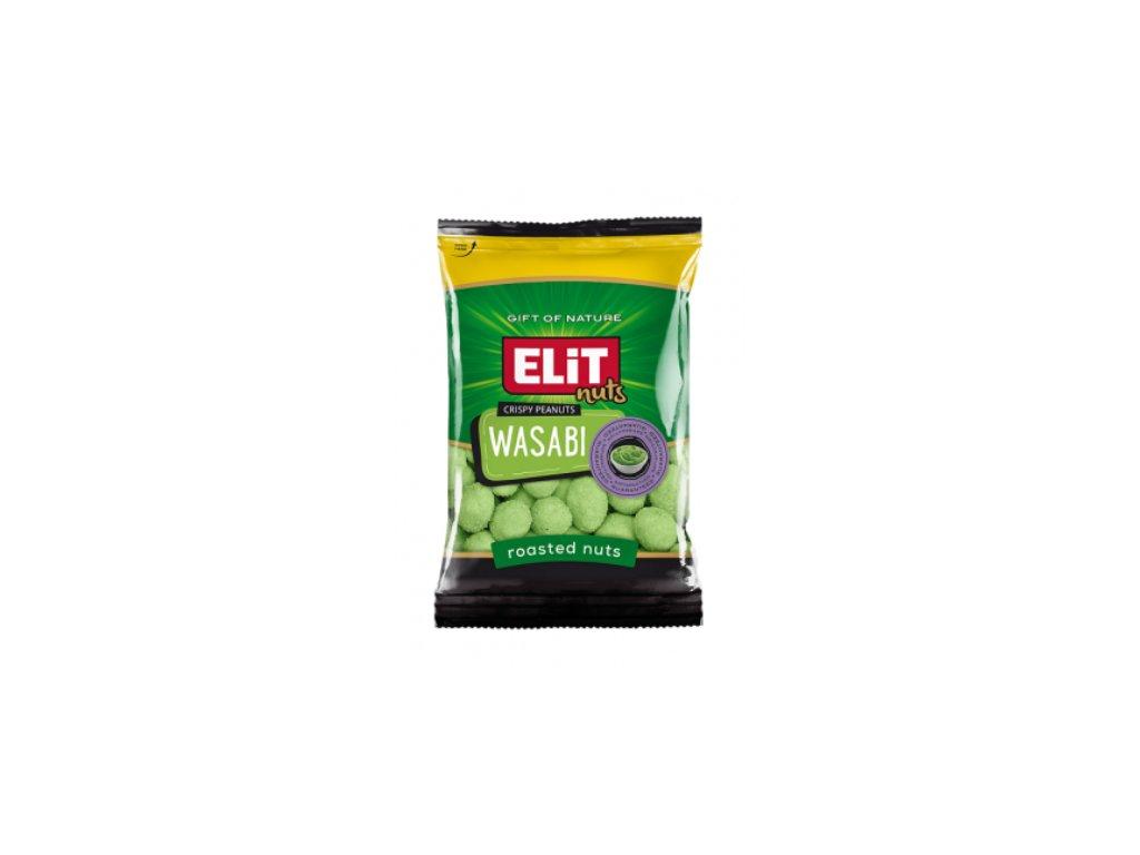 ELIT Arašídové Chipsy 70g Wasabi