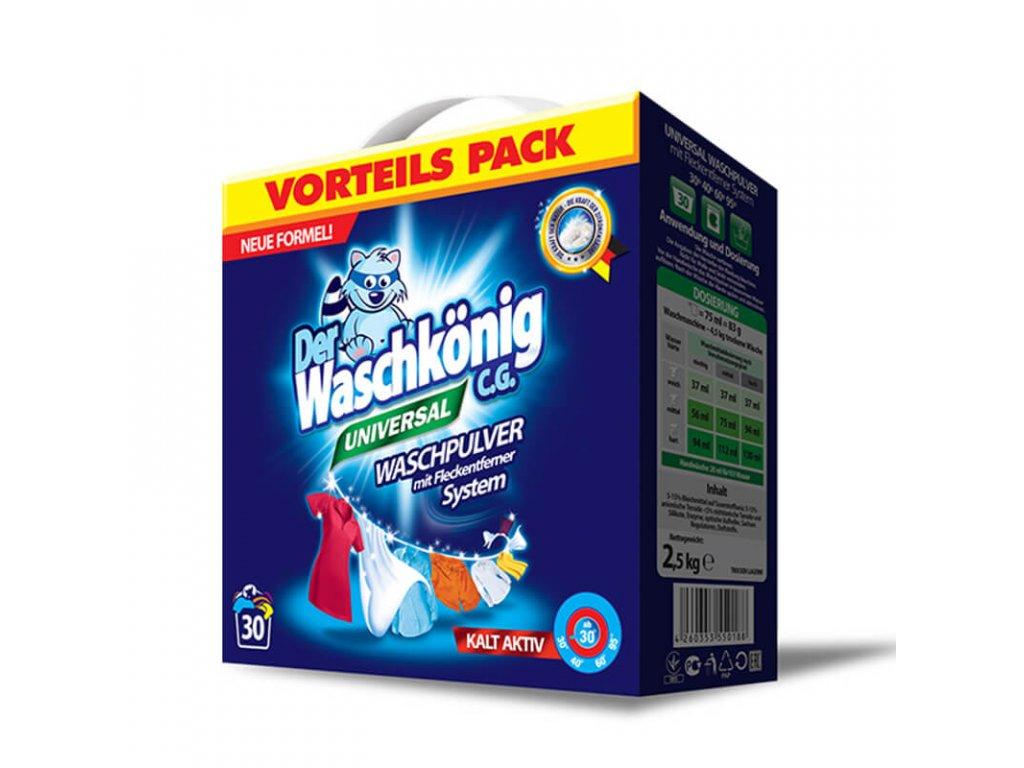 Waschkönig Universal 2,5 kg prací prášek 30 praní.