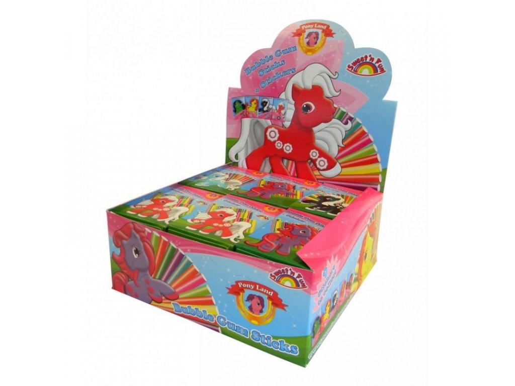 Pony Land Cigaretový Žvýkačky