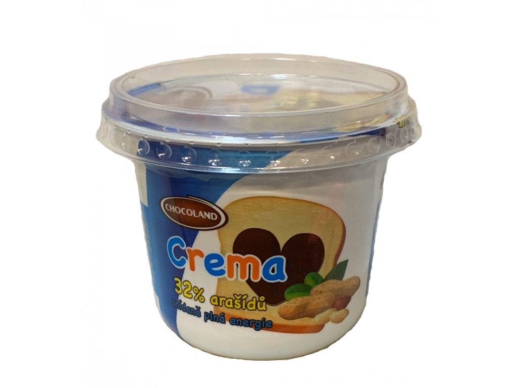 CREMA 250g arašídová kelímek
