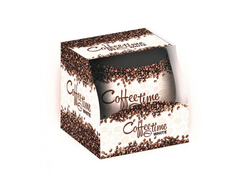 SANTO Vonné Svíčky 100g Coffee Time-White