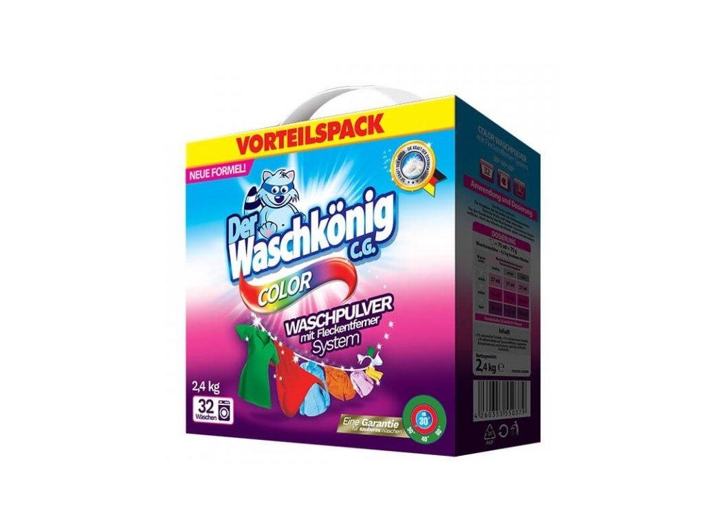 Waschkönig Color 2,5 kg prací prášek 30 praní.
