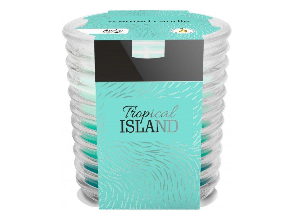 BISPOL SNW80 vonné svíčky 130g Tropical ISLAND
